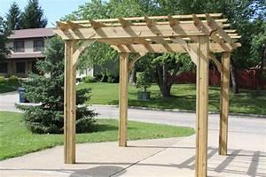 Building Farm Pergola Time World Garden Farm Simple Pergola Ideas
