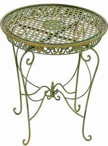 Gartentisch Metall Antik : schmiedeeisen tisch kaufen moreko gmbh ~ Watch28wear.com Haus und Dekorationen