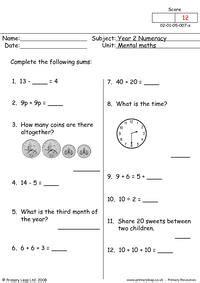 mental maths 2 primaryleap co uk