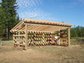 verma free horse loafing shed plans