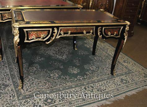 bureau boulle bureau plat bureau archives antiquites canonbury