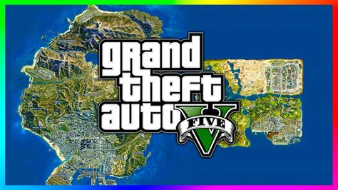 Grand Theft Auto San Andreas Map For Gta 5 Download