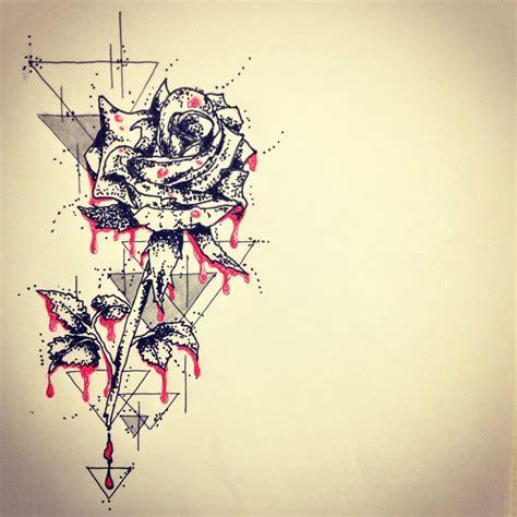 Rose Art Tattoo Sketch Ranz Pinterest