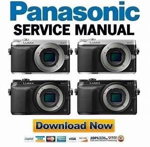 Panasonic Lumix Dmc Gx7 Gx7g Gx7e Gx7k Gx7c Service Manual