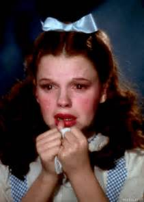 Judy Garland Wizard of Oz Dorothy Crying