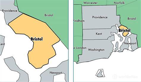 Bristol County, Rhode Island / Map Of Bristol County, Ri