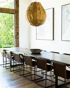 Dining table pendant lighting above
