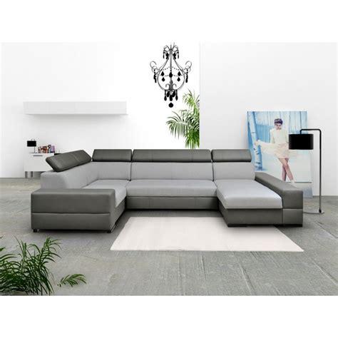 Canape Panoramique - canapé d 39 angle panoramique 6 places avec lit et