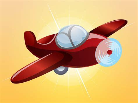 Cartoon Plane Vector Art & Graphics