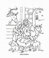 Jesus Coloring Born Loves Children Stable Birthday Colorluna Sketches Draw Luna Sketch Atividades Colorear Visitar Historia Sobre Abrir Template sketch template