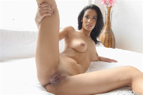 Karmen Bella In Lotioned Legs By POVD Photos Video