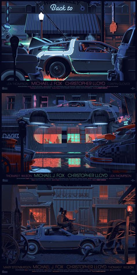 These Topdown Back To The Future Posters Are Absolutely
