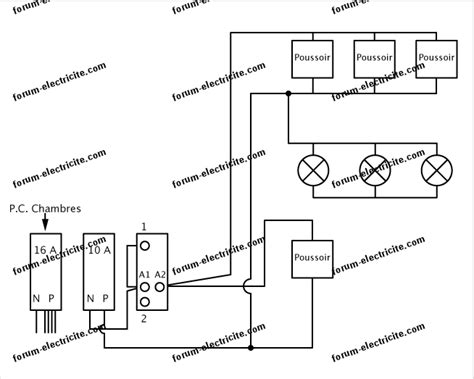 Schema Cablage Telerupteur Bipolaire