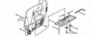 Craftsman 315115690 Reciprocating Saw Parts
