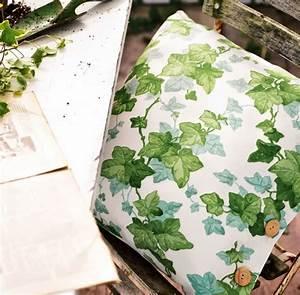 Ranken Blumen Garten : meterstoff hedera green stoff efeu creme gr n la cassetta ~ Whattoseeinmadrid.com Haus und Dekorationen