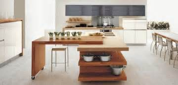 wooden kitchen furniture open plan white wood kitchen interior design ideas