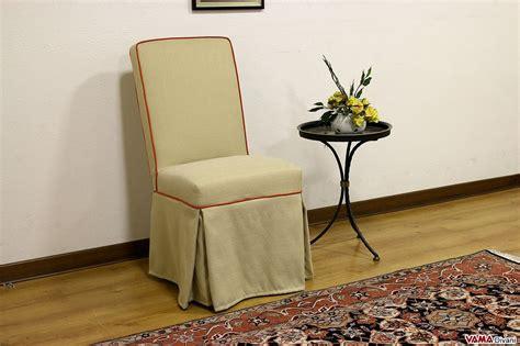sedia sala da pranzo sedia imbottita vestita con gonna in tessuto sfoderabile