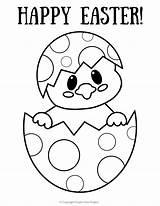 Easter Coloring Egg Printable Pages sketch template