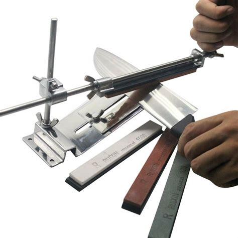 sharpening kitchen knives knife sharpener professional kitchen sharpening system fix