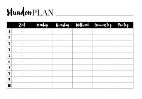 Die 25+ Besten Ideen Zu Wochenplan Zum Ausdrucken Auf