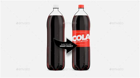 This free psd mockup is easy to. Cola Bottle Pet - Mockup by Graxaim | GraphicRiver
