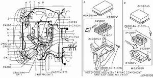 Nissan Maxima Harness Inner  Harness Instrument Sub  Other