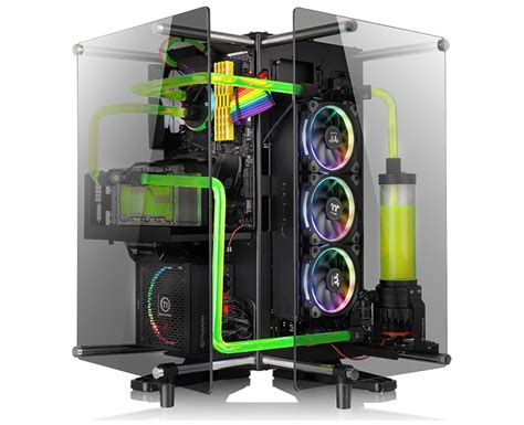 thermaltake tg 2 the thermaltake p90 tempered glass edition is