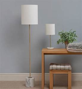 Bianco antique brass table lamp with ivory shade for Buy floor lamp with table