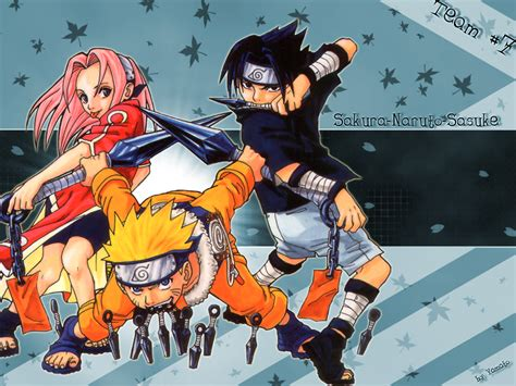 Naruto Team 7 Wallpaper By Yamato-chan On Deviantart