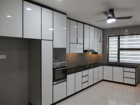aluminium kitchen cabinets
