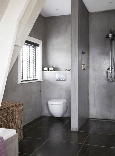 20 amazing bathroom designs with concrete