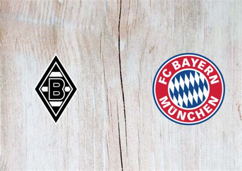 Borussia M.gladbach vs Bayern Munich Full Match ...