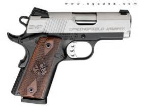 Springfield 1911 EMP Cocobolo Grips 9mm