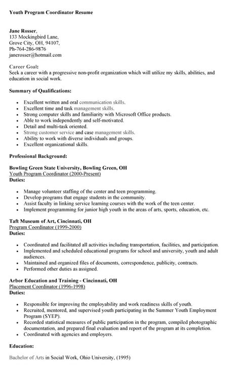 administrative coordinator description sle youth coordinator resume sales coordinator lewesmr