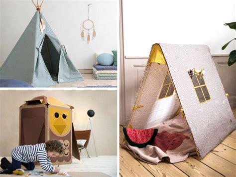 speelhuisjes en tipi tent inspiratie voor de kinderkamer