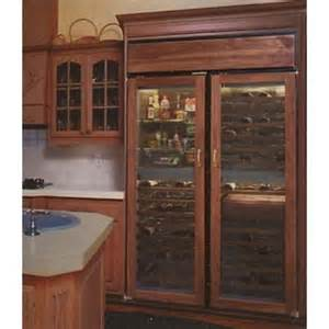 master series built in 48 quot combination wine cabinet and