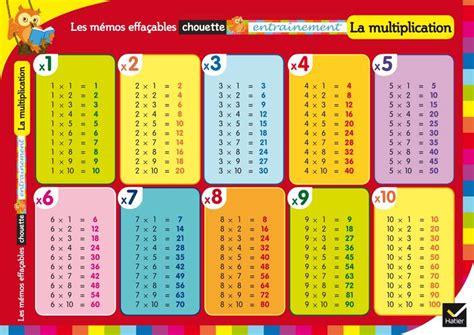 livre les m 233 mos effa 231 ables la multiplication collectif hatier chouette entra 238 nement