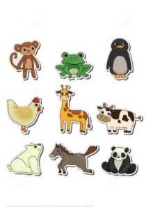 printable stickers  animals  printable