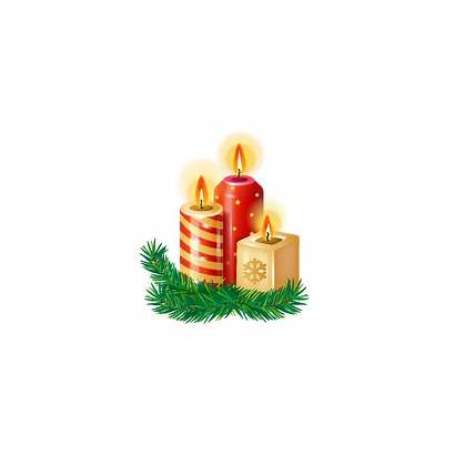 Candle Christmas Candles Church Transparent Icon Clipart