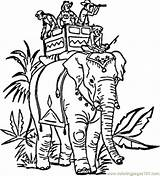 India Coloring Pages Elephant Indian Colouring Carrying Printable Drawing Elephants Hindu Drawings Head Swacha Bharat Colour Coloringpages101 Clipart Blank Super sketch template