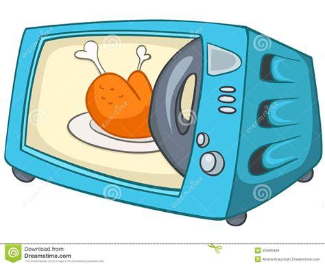dessin anim cuisine micro onde à la maison de cuisine de dessin animé image
