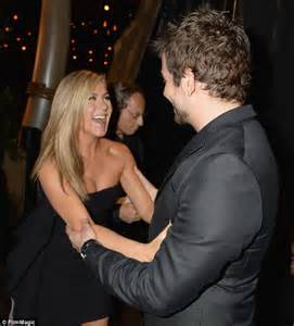 Jennifer Aniston and Amy Adams swoon as Bradley Cooper ...