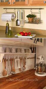 25 best ideas about small kitchen organization on With organizing free cluttered kitchen atorage ideas