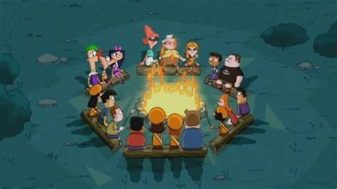 campfire phineas  ferb photo