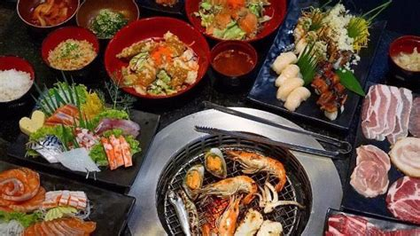 tenjo sushi yakiniku premium buffet   brio
