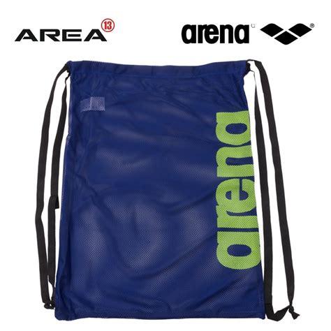 arena fast mesh swim bag royal fluro swimming bag mesh
