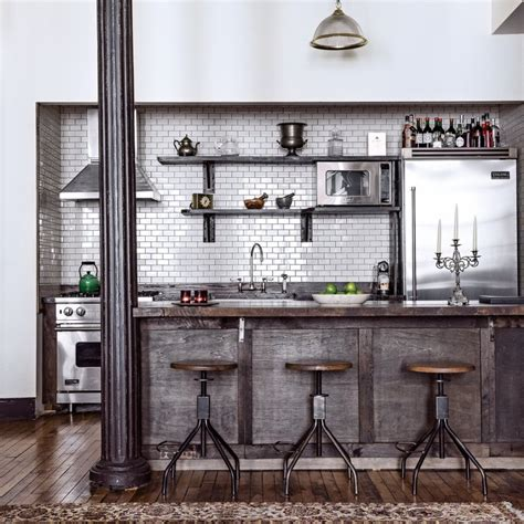 sermes cuisine cuisine industrielle loft dootdadoo com idées de