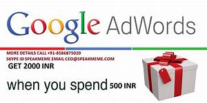 Adwords coupons for existing accounts