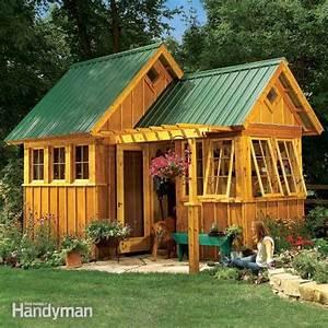 Family handyman garden shed plans ~ Haddi