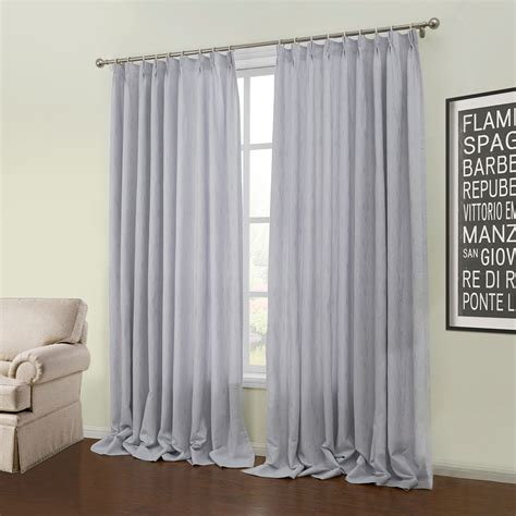 Room Darkening Curtain Custom Modern Jacquard Grey